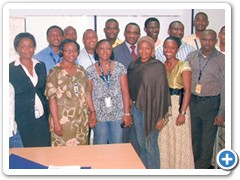 Presentation Skills Course Held at Ericsson Nigeria, Lagos by McAbraham's Limited.