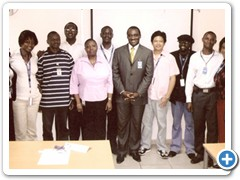 Conflict Management and Communication skills held at ERICSSON Nigeria by McAbraham's Limited.